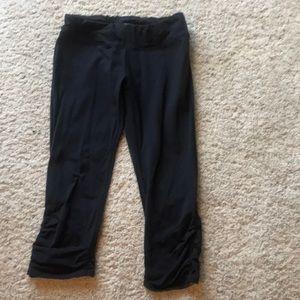 Kira Grace ruched bottom leggings capris